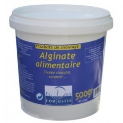 Alginate contact alimentaire