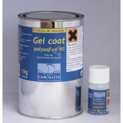Gel coat polysoflex 90 - incolore